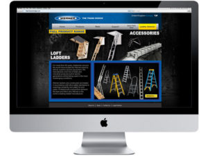 Werner Ladder Website Design