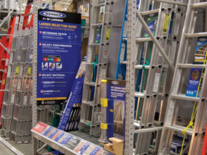 Werner Ladder Point of Sale