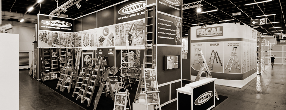Werner Ladder exhibition design