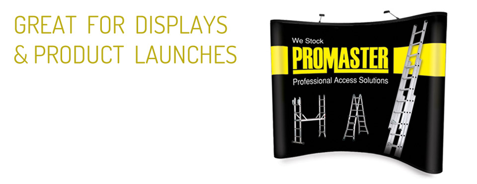 PROMASTER pop up display stand