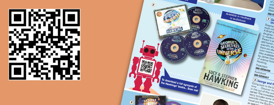 QR code marketing for the TTS Group