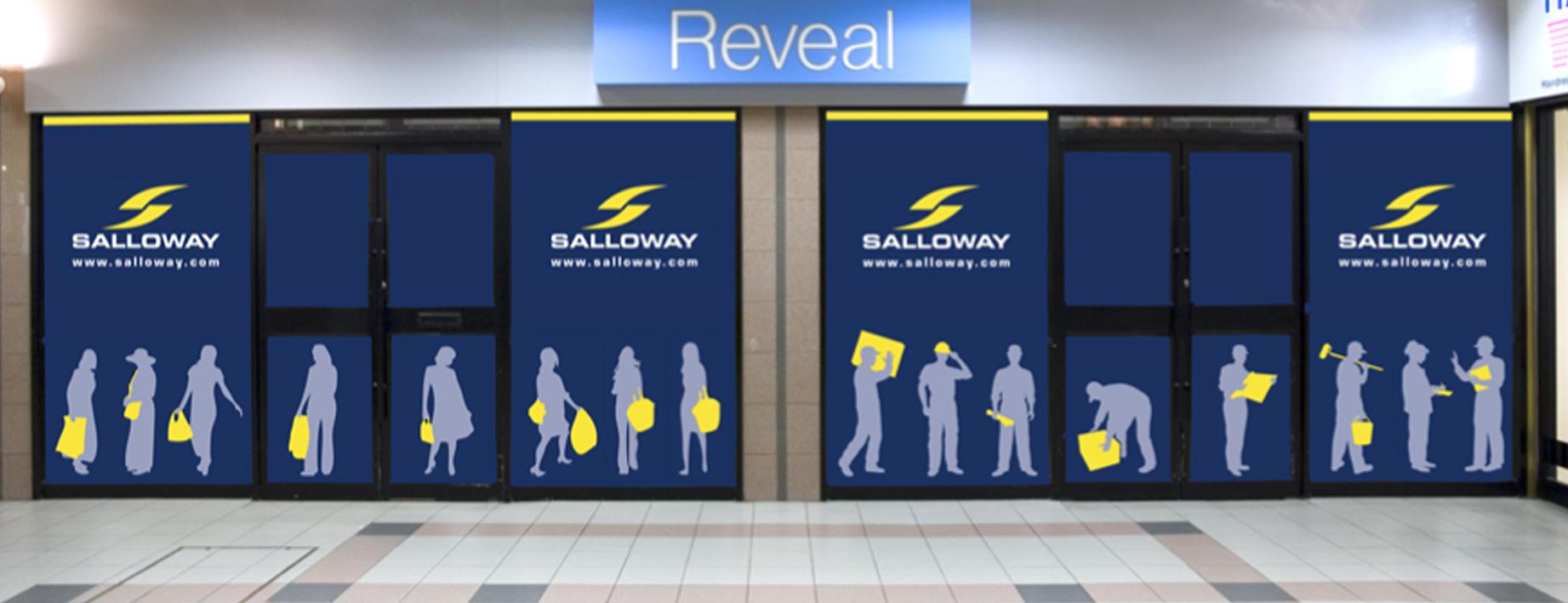 Salloway Property Consultancy window graphics