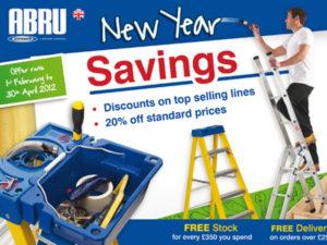 Abru Ladders New Year Mailer