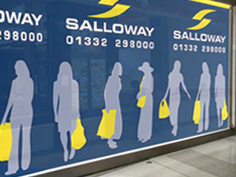 Salloway Property Consultants Signage